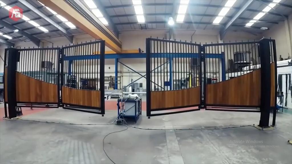 Pintu Gerbang Otomatis